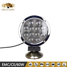 alibaba best seller 60w led work light KR7601 car tuning light 7 inch led head light
