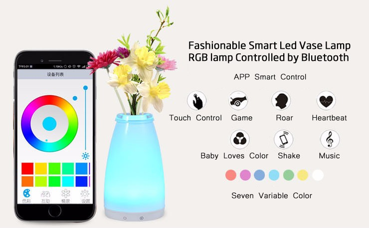 Best Brand RGB Smart Lamp Night Mood Unique Bedroom Lighting