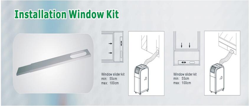 2000Btu 3000BTU 4000BTU mini climatiseur pour chambre