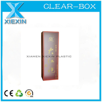 tea paper packing boxes with clear plastic cover