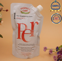 Hair rebonding straightening cream ionic perm 500ml*2 OEM ODM Perfect Link