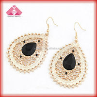 Golden Earring Designs For Women Fashion Dubai Gold Jewelry Earring