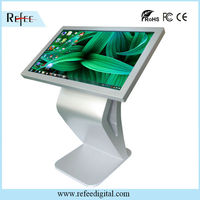 32 inch lcd with touch screen kiosk supermarket display