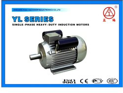 yl series air compressor single phase dual capacitor asynchronous motor
