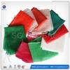Alibaba express small drawstring leno mesh bag