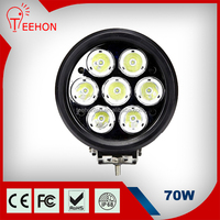 Factory Price 70W Car LED Work Light, High Power LED Work Light, Motorcycle LED Driving Lights