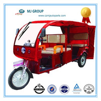 2014 classic model 4+1 Seater battery rickshaw for passenger solar rickshaw