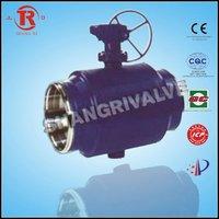full bore welded ball valve