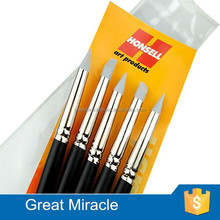 Colour shapers and clean clay sculpting and painting silicone artist brush set