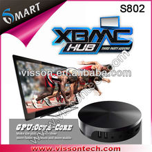 linux xbmc the little black box tlbb/android tv box-the xbmc media player/pre-installed xbmc quad core smart tv dongle