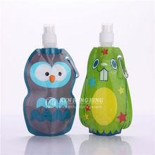 Custom Kid Water Plastic Pouchs with Animal Shape