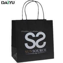 custom paper bag shopping printed paper bag hot stamping, packaging paper bag shopping, food paper bag manufacturer