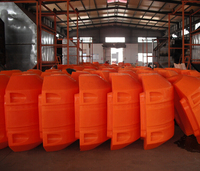 PE floaters for HDPE pipe and floating pontoon for marine project/pontoon floats