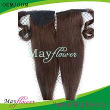5a top grade real virgin brazilian hair weave ponytails