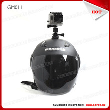 New Gopros Helmet 360 Degree Adjust Helmet Mount Adapter aluminum