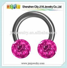 Ferido captive bead anel