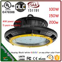 Alibaba wholesale price DLC list LED high bay 200w, 110lm/w UL 200w LED high bay light 5 years warranty