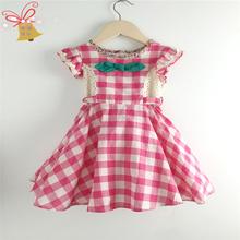 Promotion cotton dresses for little girls
