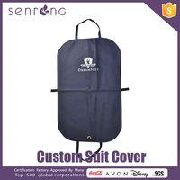 Transparent Suit Cover Waterproof Suit / Garment Cover Bag