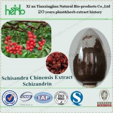 Factory Supply High Quality Natural Schizandra extract powder Schisandrins 9% HPLC