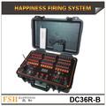 36 canales sistema de fuegos artificiales recargable,sistema de control de fuegos artificailes alámbrico/inalámbrico, Felicidad Sistema de disparo de Fuegos Artificiales