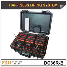 36 Cues rechargeable fireworks system, wire /wireless control firing system,Happiness Fireworks Firing System