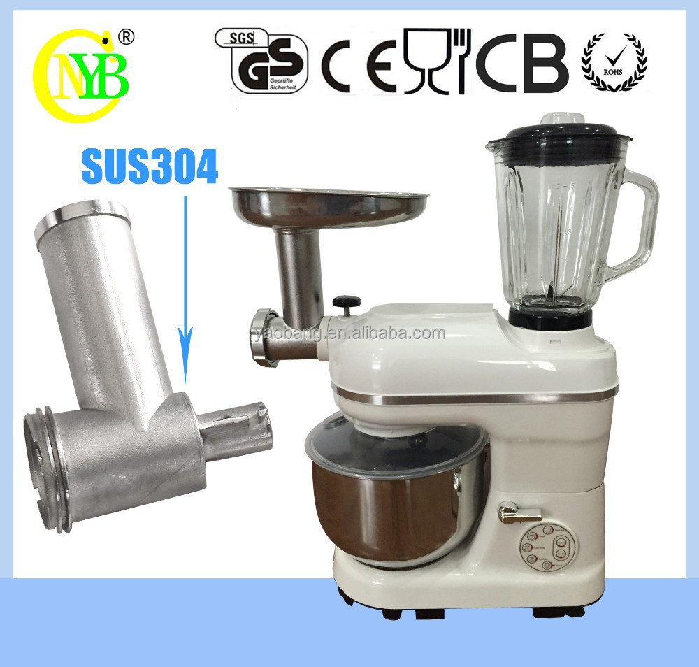 Multi Purpose Mixer ~ Multi purpose kitchen stand mixer with one button control