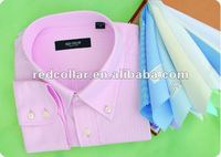 long sleeve french cuff tailor made dress men`s shirt