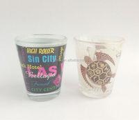 personalized shot glass,souvenir mini wine shot glass 2OZ,tequila shot glass