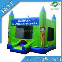Nuevo diseño! mini gorila castillo, juego inflable gorila