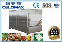 Latest vacuum food machine with steaming/barking/cooling facility