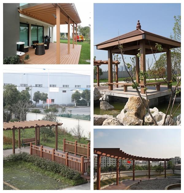 Ervaren fabrikant gemaakt waterdicht wpc pergola pavilion dak bogen pergola 39 s pergola 39 s en - Pergola verkoop ...