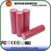 2014 newest LG HE2-18650 2500mAh 3.7V li-ion battery high drain 18650 2500mah battery