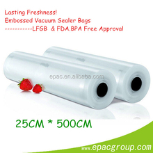 Lasting Freshness!! Embossed 6'' * 50' OR 8'' * 50' OR 10'' * 50' Commerial extra large vacuum seal storage bags Food S