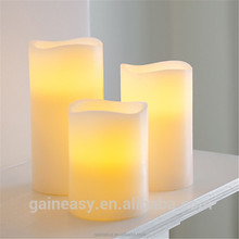 Led production line home / church / hotel / party / wedding / restaurant flameless led candle lighting