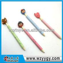 2013 new style!PVC Soft pen,cupcake pen,butterfly pen