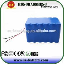 Promotional 22.2v 24v lithium polymer battery pack 18650 8800mah li batteries for printer