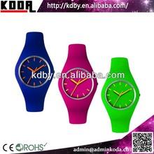 KODA High quality cheap waterproof silicone watch