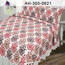 Decorative Bed Cover Duvets with Matching Curtain Sets