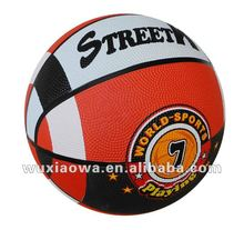 Basketball official size and weight/ popular sport/ hot sales rubber basketball(RB081)