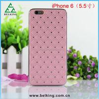 For iPhone 6 Diamond Case, for iphone 6 Plus Diamond Pastic Hard Case/Metal Brushed Case/Aluminum Case