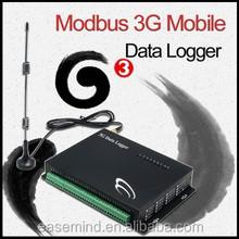 Modbus meter reading via 3G network with 10 Digital Inputs data logger