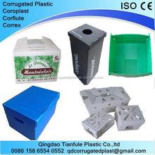 Folding Corrugated Plastic Reusable Box
