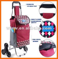Best selling Foldable shopping trolley for advertising