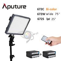Aputure CRI95+ flicker-free LED remote Video Light for DSLR Camera DV Camcorders