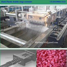PET/PE/PP/PC/PBT flakes recycling plastic pelletizing machine