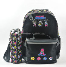 Design branded polyester kids trolley school bag