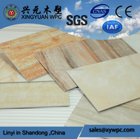Manufacture Direct Sell 2015 Hot Products Marble Plastic Sheet PVC Marble Sheet High Glossy UV Sheet