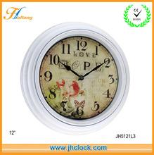 2014 retro antique time clock / digital clock / Cheap wall clock for home decoration