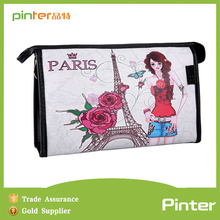 Pinter bags factory 2015 PVC unique high quality printed cosmetic bag,printing cosmetic bag